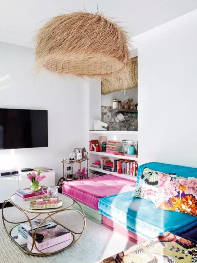 【欧美软装设计】家居装饰 | 马德里波西米亚风公寓