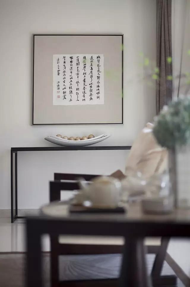 广州天誉半岛样板房空间 a2-a3栋 01户型      中信红树湾三期