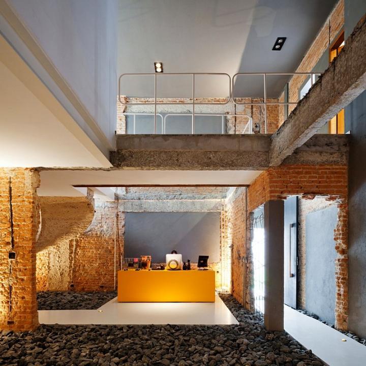 【欧美61家居设计】裸露的砖墙图片